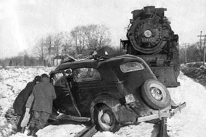 Crossing accident 1943 NKP
